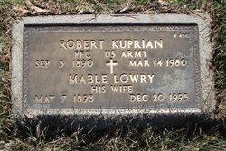 """Mable Louise """"Mae"""" <I>Hart</I> Lowry Kuprian"""