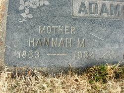 Hannah Maria <I>Fanning</I> Adams