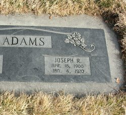 Joseph Reuben Adams