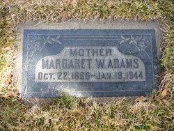 Margaret Emily <I>Wiggill</I> Adams