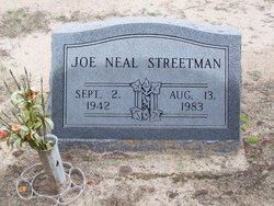 Joe Neal Streetman
