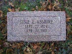 "Susan Elizabeth ""Susie"" <I>McFarland</I> Abshire"
