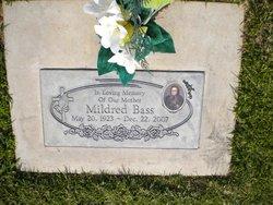 "Mildred ""Mickey"" <I>Bonds</I> Bass"