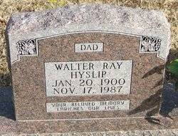 Walter Ray Hyslip