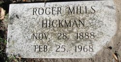 Roger Mills Hickman