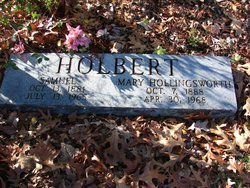 Mary <I>Hollingsworth</I> Holbert
