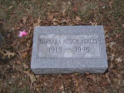 Barbara <I>Busch</I> Ashley