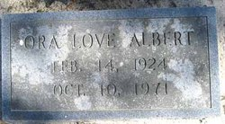 Ora <I>Love</I> Albert