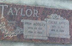 Cecile <I>Hatch</I> Taylor