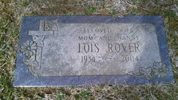 Lois Louise <I>Cook</I> Rover