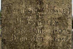 """Catherine """"Kathryn"""" <I>Brinker</I> McGlamery"""
