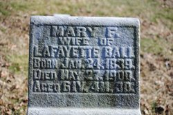 """Mary F """"Fannie"""" <I>Gwinn</I> Ball"""