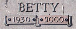 Betty Rose <I>Fulkerson</I> McAllister