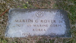 """Sgt Martin George """"Marty"""" Rover, Jr"""