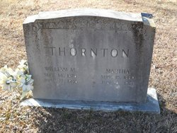 Martha <I>Landrum</I> Thornton