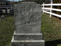 Martha Jane <I>Church</I> Foster