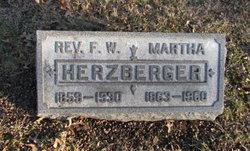 Rev Friedrich Wilhelm Herzberger