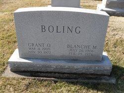 Grant O Boling