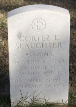 Cortez L Slaughter