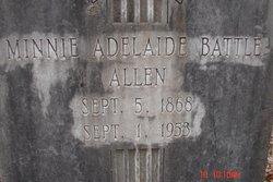 Minnie Adelaide <I>Battle</I> Allen
