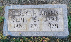 Elbert Hampton Adams