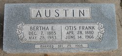 Otis Frank Austin