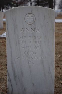 Anna <I>Lange</I> Findley