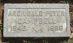 Archibald Peter Campbell