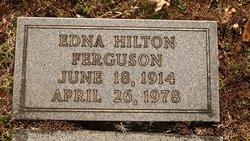 Edna <I>Hilton</I> Ferguson