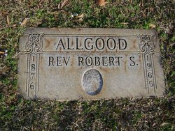 Rev Robert Summers Allgood