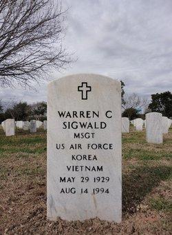 Warren C Sigwald