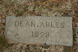 Dean Clyde Abels