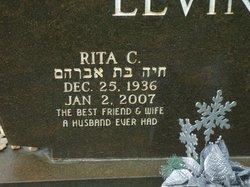 Rita C <I>Thoben</I> Levine