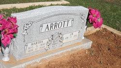 Martha <I>Boatright</I> Arrott