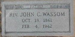 Rev John Clayton Wassom