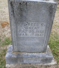 Frances Elizabeth <I>Collins</I> Wheat