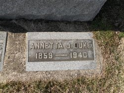 Annette Jennie <I>Gregg</I> Duke