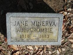 Jane Minerva <I>Sims</I> Abercrombie