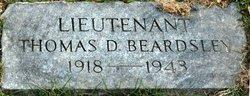 Lieut Thomas D. Beardsley