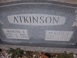 Bertha R Atkinson