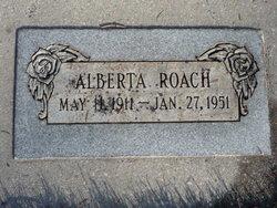 Alberta May <I>Wiggill</I> Roach