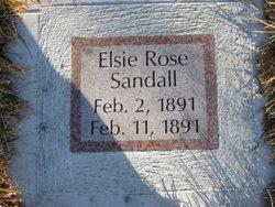 Elsie Rose Sandall