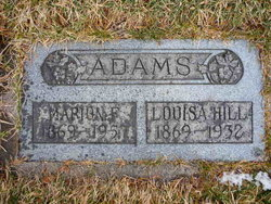 Louisa <I>Hill</I> Adams