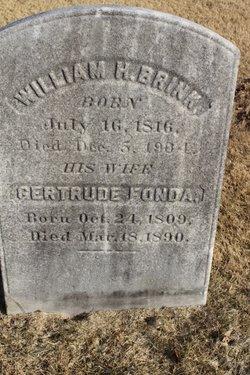 Gertrude Dewey <I>Fonda</I> Brink