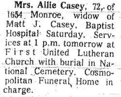 Ailie R Casey