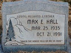 Max E Hall
