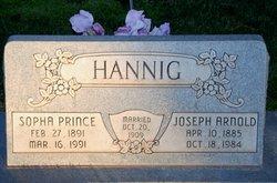 Sopha <I>Prince</I> Hannig