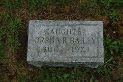 Orpha R. Bailey
