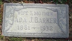 Ada Jane <I>Hennegen</I> Barker
