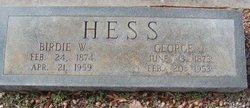 George J. Hess